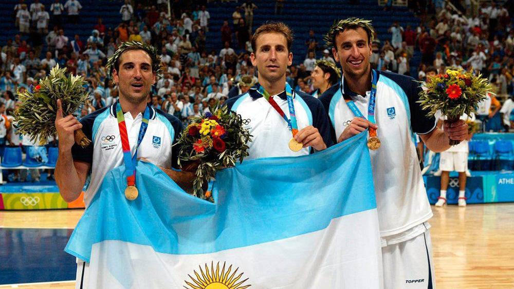 Ginóbili, Argentina y el Oro Olímpico del 2004