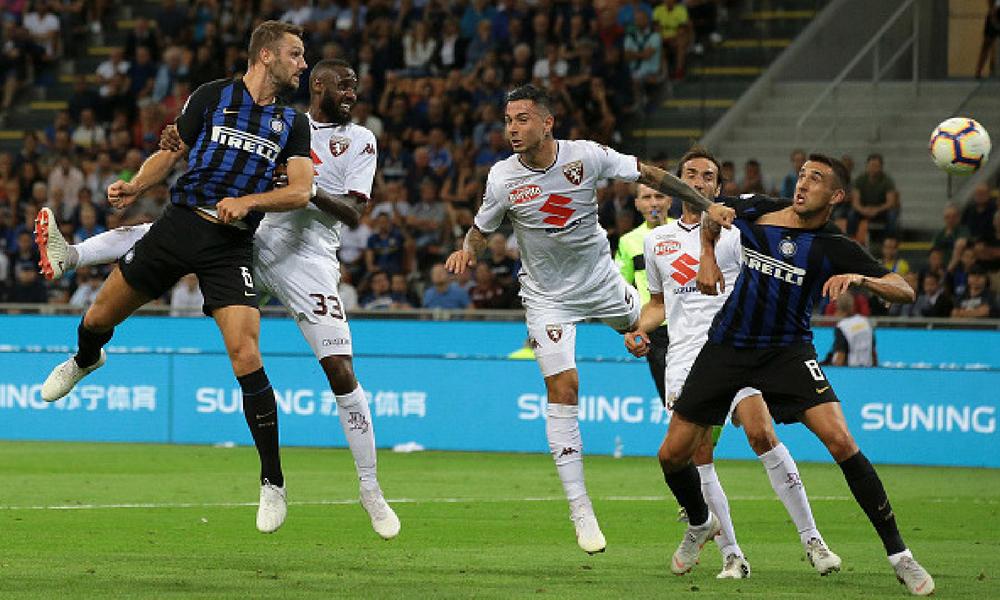 Inter y Torino dividieron unidades en el Giuseppe Meazza
