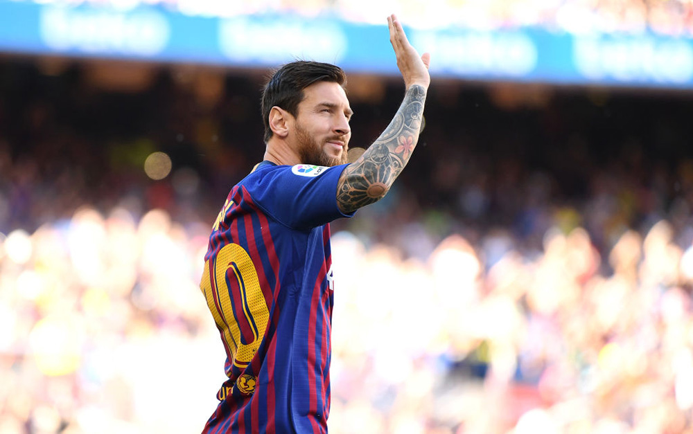 Messi quiere de vuelta la Champions
