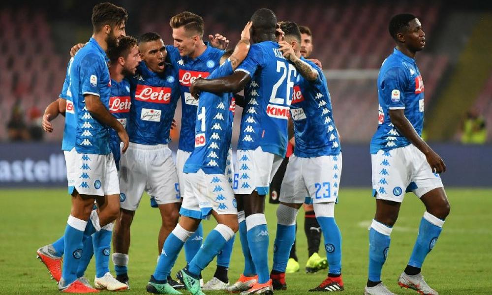 Napoli remontó ante el Milan