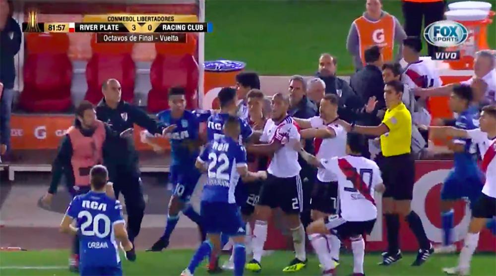 Otro incidente en la Libertadores