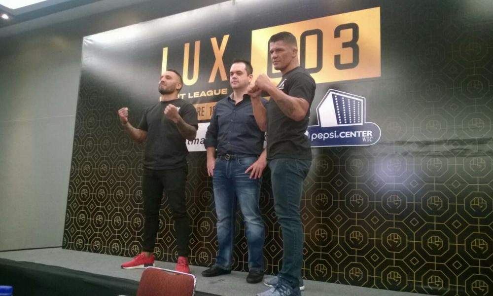 Rivera y Mandarina estelarizarán Lux Fight League 003