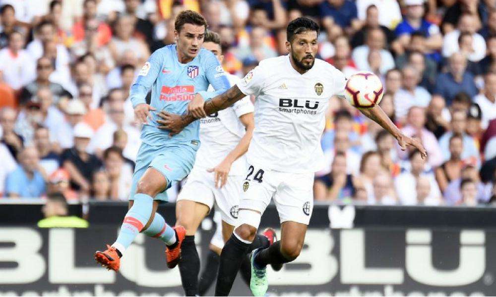 Valencia contra Atlético de Madrid