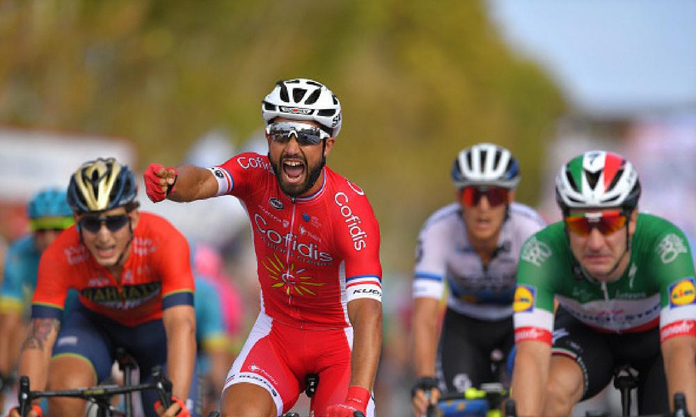 Nacer Bouhanni ganó la sexta etapa