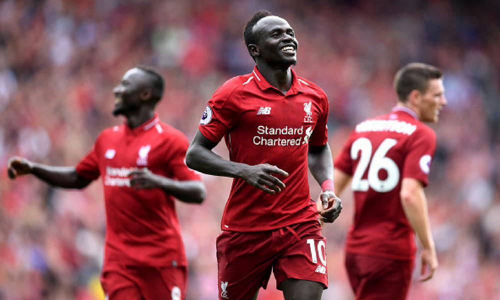 el Liverpool goleó al West Ham