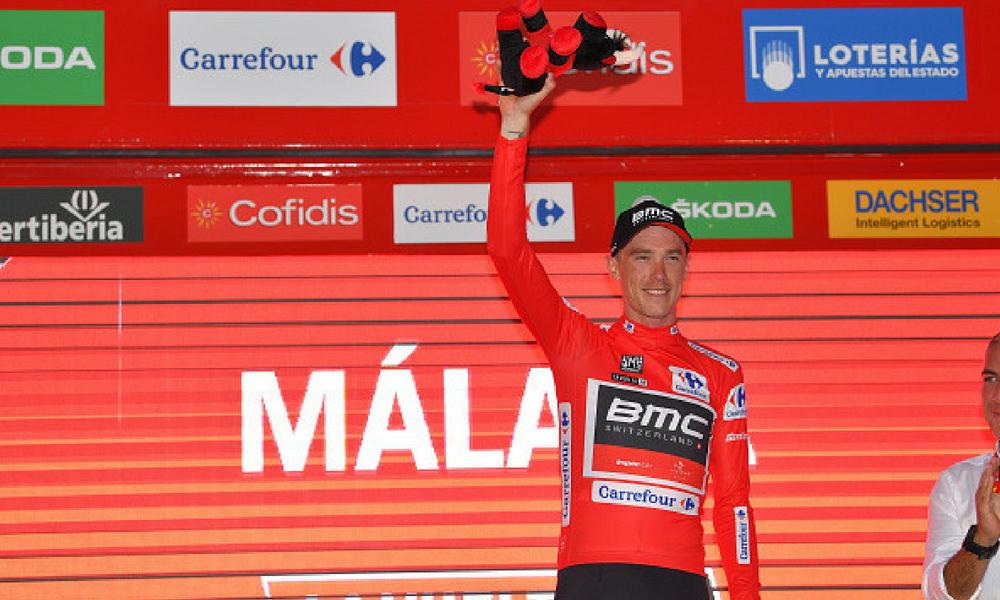 Dennis es el primer líder de la Vuelta