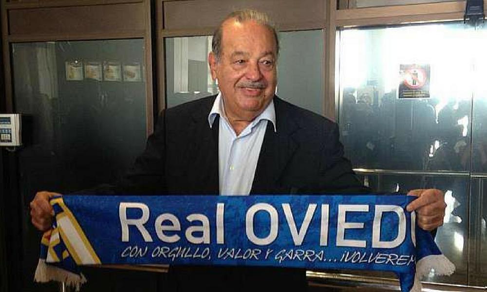 salvó Carlos Slim al Oviedo