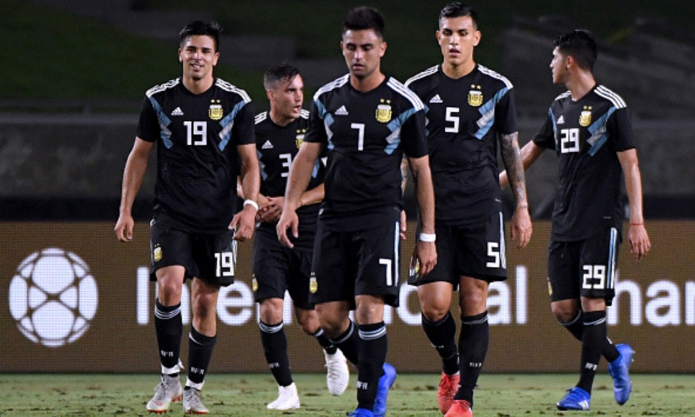 Argentina goleó a Guatemala