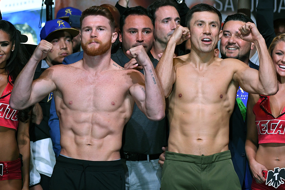 De la Hoya 'sazona' pelea 'Canelo' vs. 'GGG'