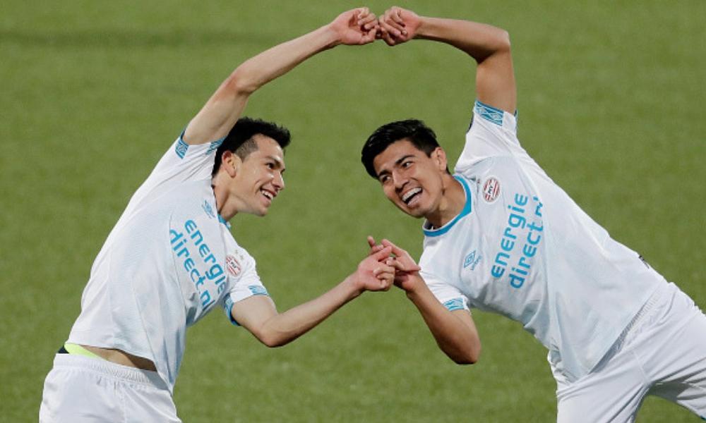 Debut soñado de Erick Gutiérrez con el PSV