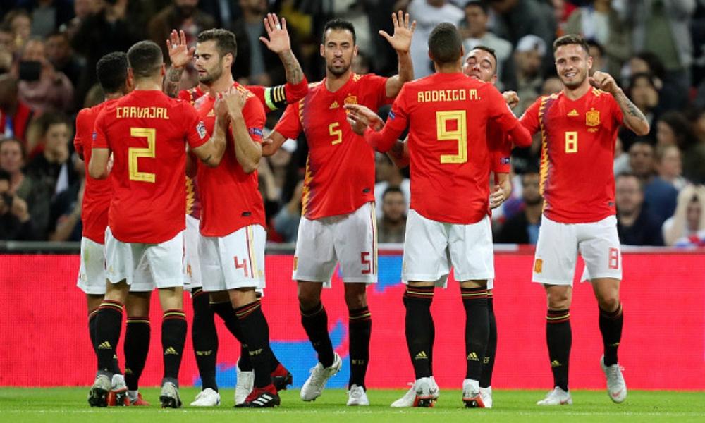 España ganó en Inglaterra