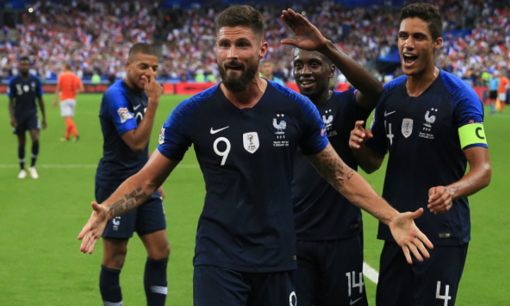 Francia derrotó a Holanda