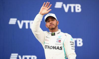 Hamilton logró su victoria 70 en Fórmula 1