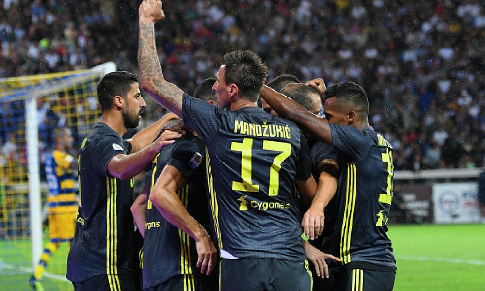 Juventus ganó en su visita al Parma