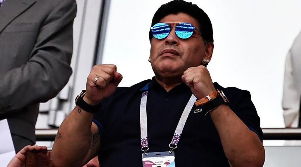 Maradona es nuevo DT de Dorados