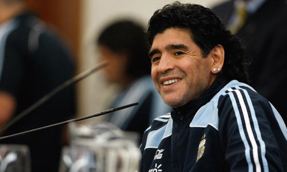 Maradona ya cuenta con una amplia experiencia