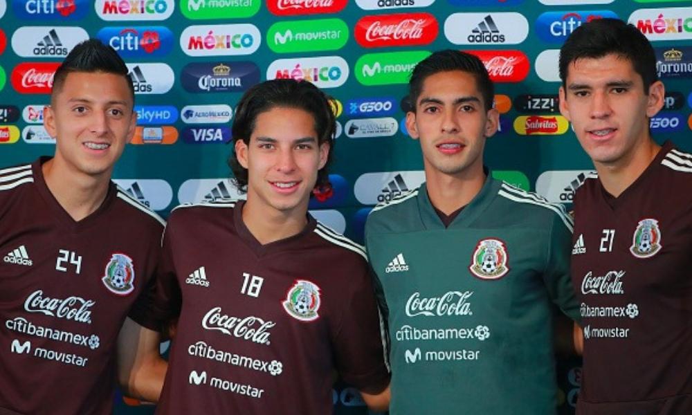 México debutó a cuatro futbolistas