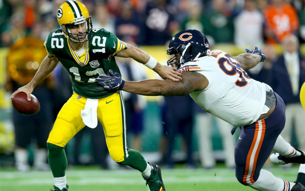 Packers cazaron Bears en casa
