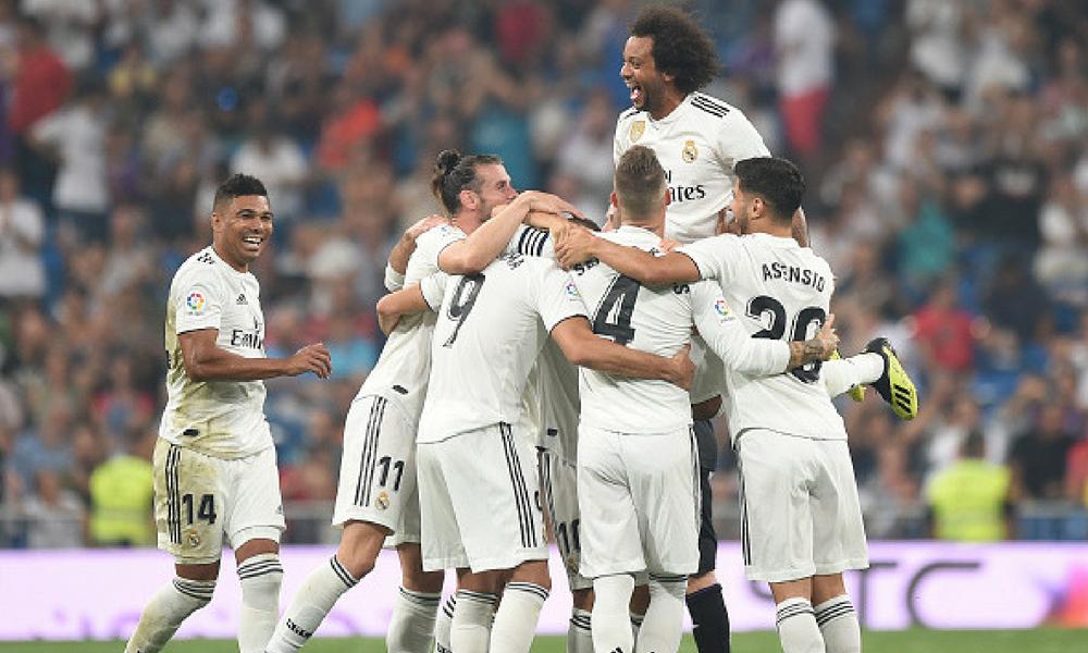 Real Madrid goleó al Leganés en el Bernabéu