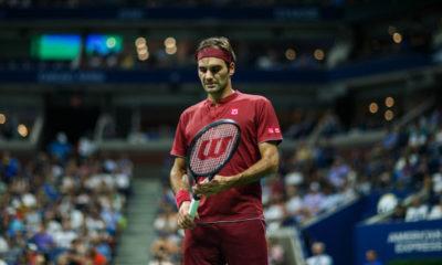 Roger Federer cayó eliminado en el US Open