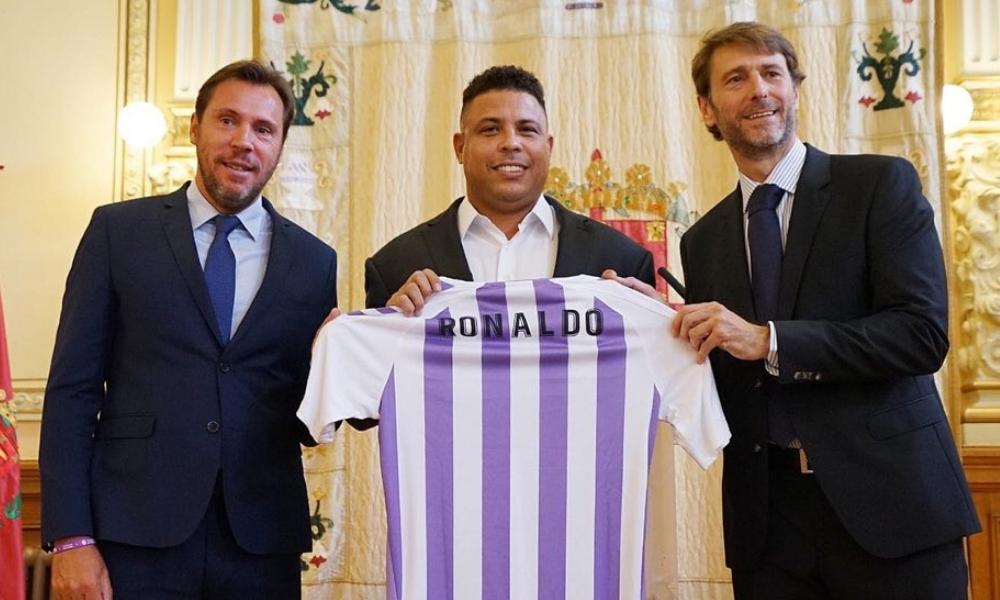 Ronaldo se convirtió en accionista del Valladolid