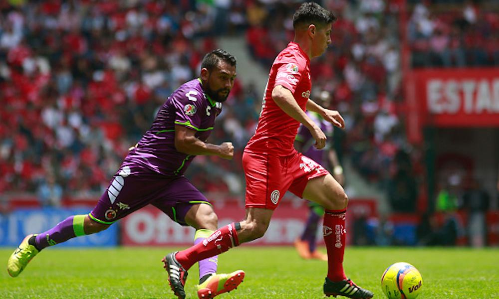 Veracruz vs Toluca