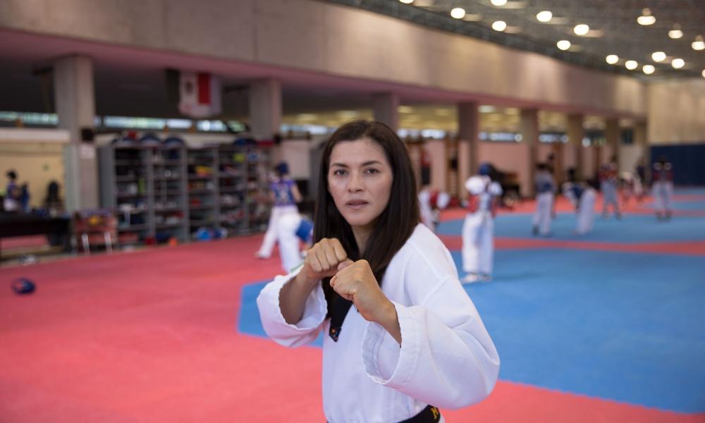 orgullo nacional y del taekwondo