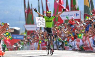 Oscar Rodríguez se impuso en la etapa 13