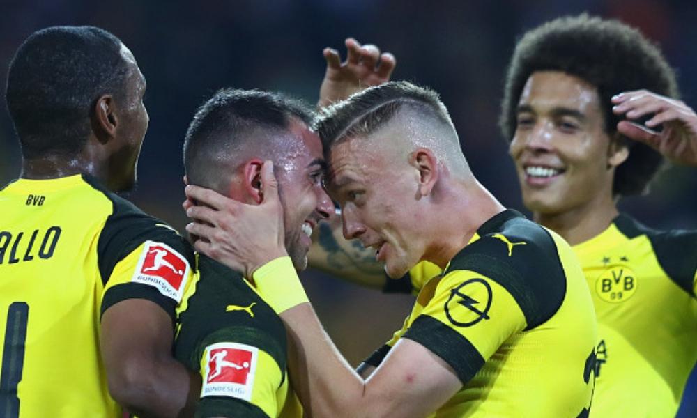 Frankfurt cayó ante el Dortmund