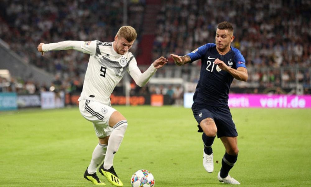 Alemania y Francia, Liga de Naciones, UEFA