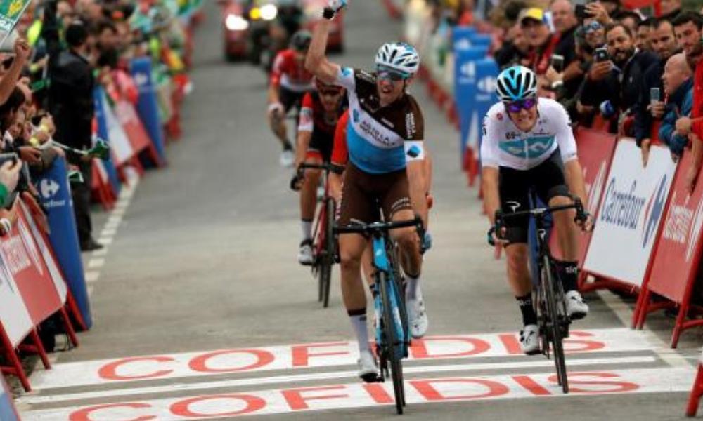 Alexandre Geniez ganó la etapa 12º