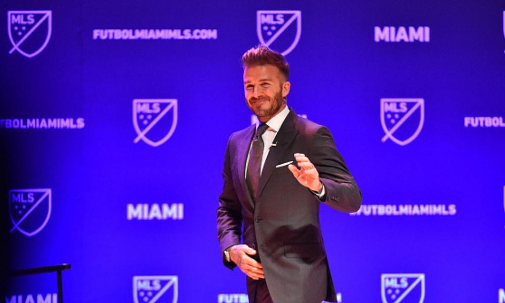 Presentaron el equipo de Beckham