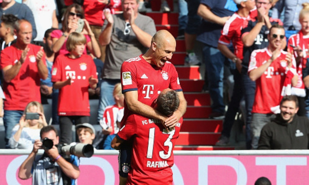 Múnich es líder de la Bundesliga