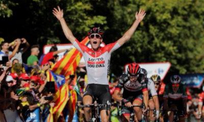 Jelle Wallays ganó la etapa 18