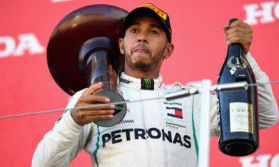 Hamilton está a un paso del título
