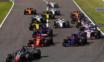La F1 modificó su calendario