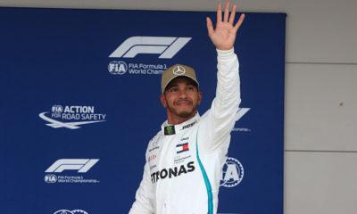 Lewis Hamilton consiguió la pole position en E.U.A.