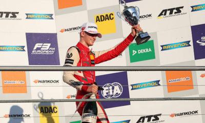 Hijo de Michael Schumacher se coronó en la F-3