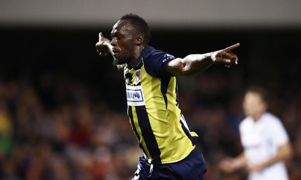Bolt marcó su primer doblete