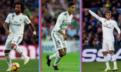 Marcelo, Varane y Mariano son bajas