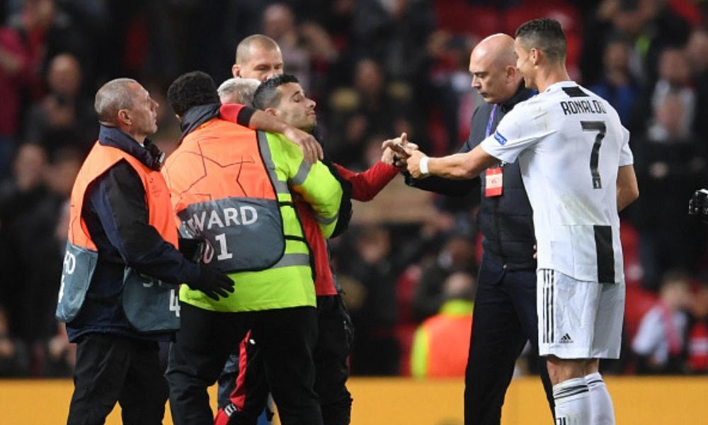 el gesto más tierno de Cristiano con un fan