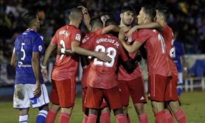 Real Madrid debutó con goleada