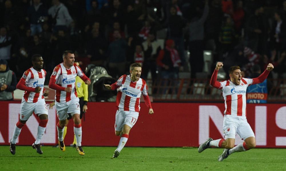 Estrella Roja volvió a ganar en Champions