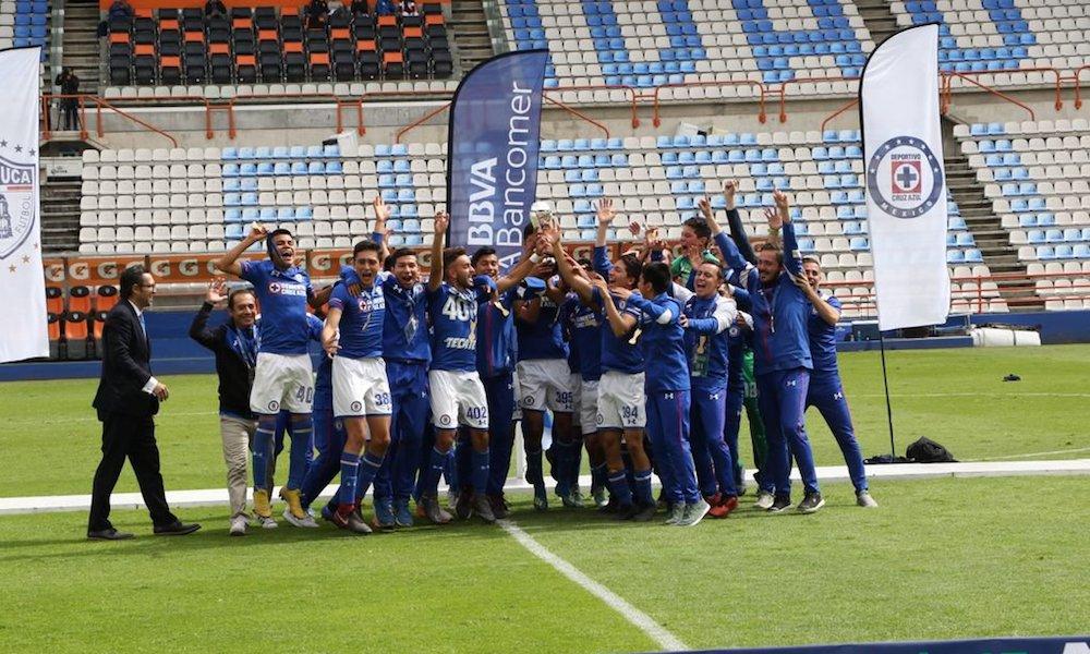 Cruz Azul fue campeón