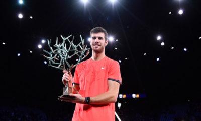 Djokovic cayó ante Khachanov