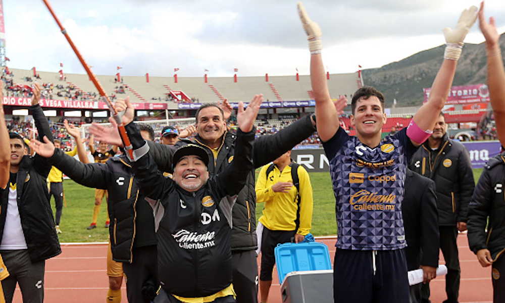 El efecto Maradona tiene a Dorados en Liguilla