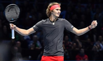 Zverev clasificó a la final del ATP World Tour