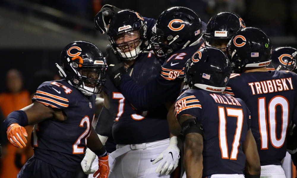 Liderados por la defensa, Bears supera a Rams