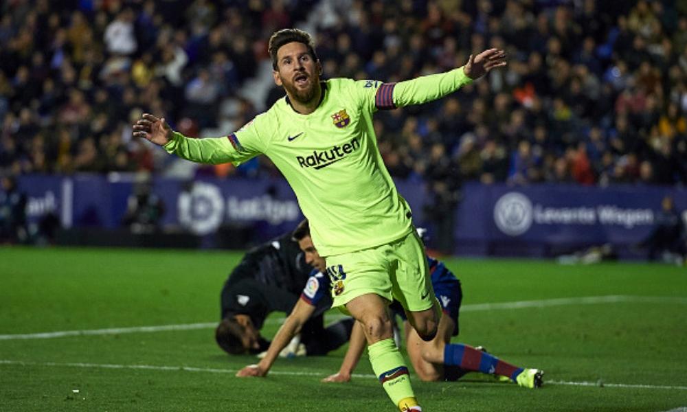Barça destrozó al Levante