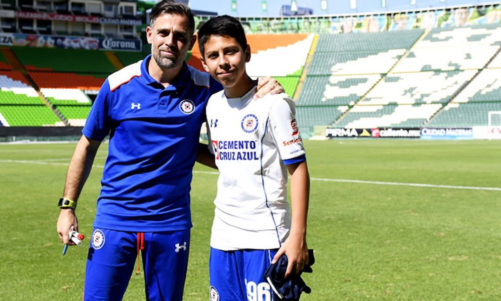 'Gringo' Castro hizo campeón al Cruz Azul